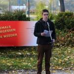 Mathias Lichtenwagner, Kagran 2013 (Foto: Archiv Personenkomitee)