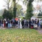 Das Publikum während der Redebeiträge, Kagran 2013 (Foto: Archiv Personenkomitee)