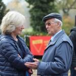 Friedrun Huemer und Richard Wadani, Kagran 2013 (Foto: Archiv Personenkomitee)