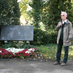 Richard Wadani bei seiner Rede, Kagran 2006 (Foto: Alexander Wallner)