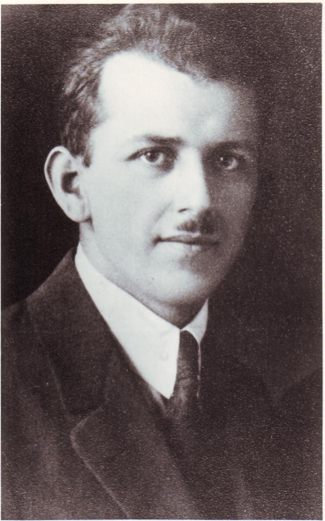 Ernst Volkmann, um 1930. Quelle: Stadtarchiv Bregenz