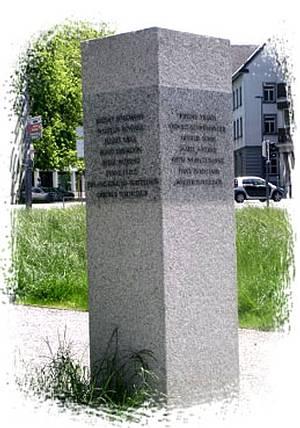 Denkmal in Dornbirn / Foto: Werner Bundschuh/ Johann-August-Malin-Gesellschaft