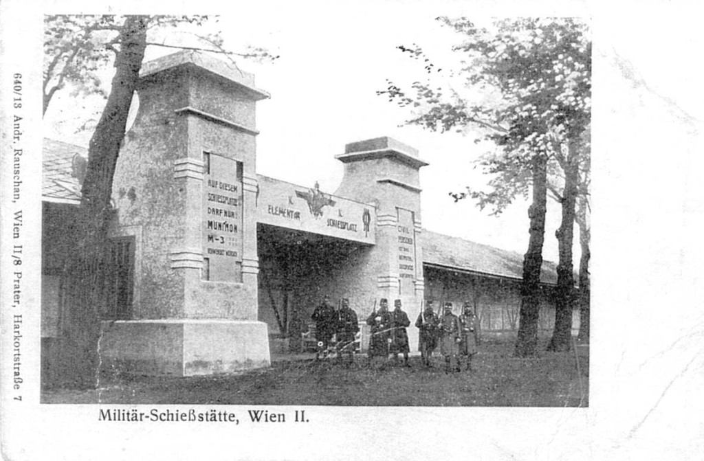 Militärschießplatz Wien-Kagran (heute Donaupark), undatiert. Quelle: Bezirksmuseum Donaustadt