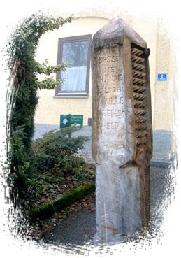 Denkmal für Franz Jägerstätter in St. Radegund / Foto: Wikipedia