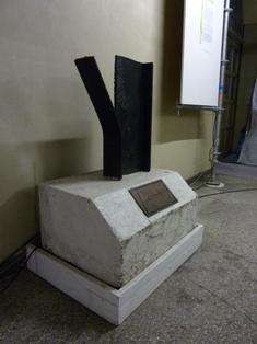 Plastik »Dem unbekannten Deserteur« im Jugendwiderstandsmuseum, Berlin Foto: Stiftung Denkmal für die ermordeten Juden Europas