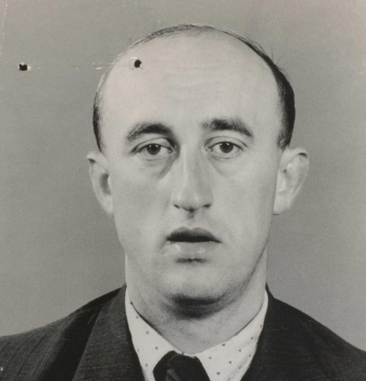 Anton Brandhuber, 1942. Quelle: Schweizerisches Bundesarchiv, Bern