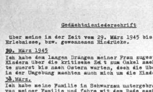 Link zur Gedächtnisniederschrift Oskar Wammerl / Dokumentationsarchiv des österreichischen Widerstandes