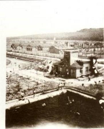 Ansicht des Strafgefangenenlagers Esterwegen, undatiert. Quelle: Dokumentations- und Informationszentrum (DIZ) Emslandlager, Papenburg