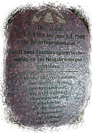 Denkmal in Braunschweig/Stadt / Foto: Manuela Büchting, Braunschweig