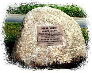 Denkmal in Kiel / Fotos: Privatarchiv Freiherr von Luttitz, Weyarn