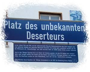 Denkmal in Tübingen / Foto: www.peace.maripo.com