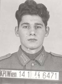 Karl Lauterbach, 1945 wegen Selbstverstümmelung hingerichtet