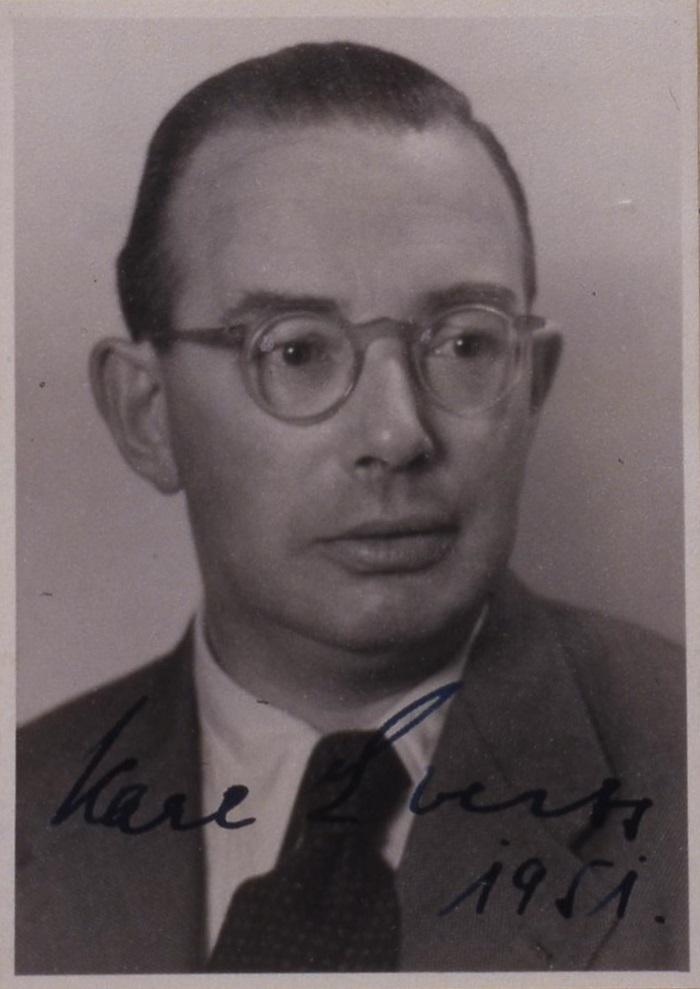 Karl Everts,undatiert. Quelle: Landesarchiv Nordrhein-Westfalen Hauptstaatsarchiv, Düsseldorf