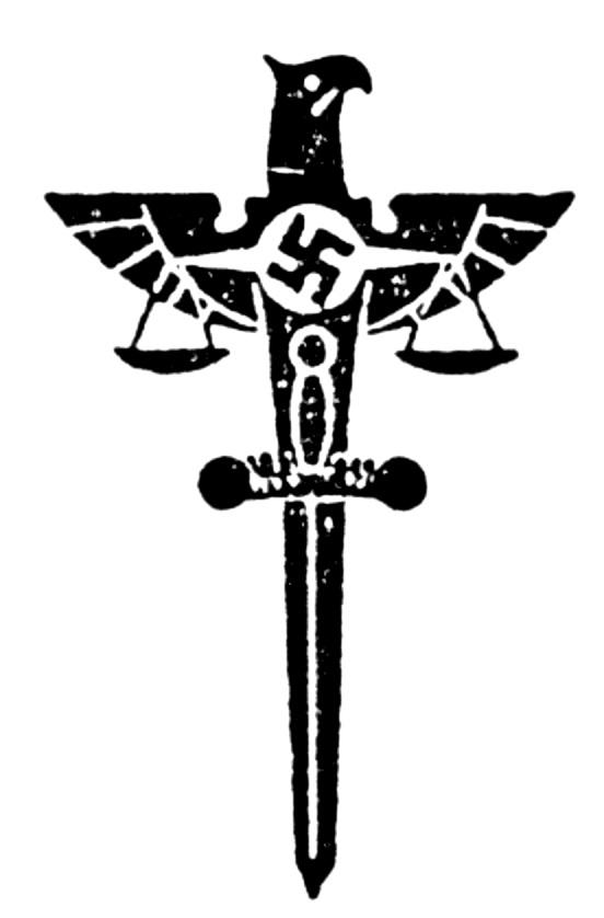 Das Symbol der NS-Justiz