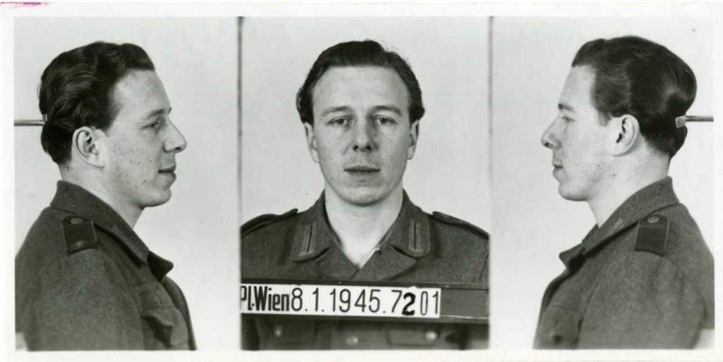 Gestapo-Foto von Kurt Fuchs (1919–1945): Quelle: Dokumentationsarchiv des österreichischen Widerstands