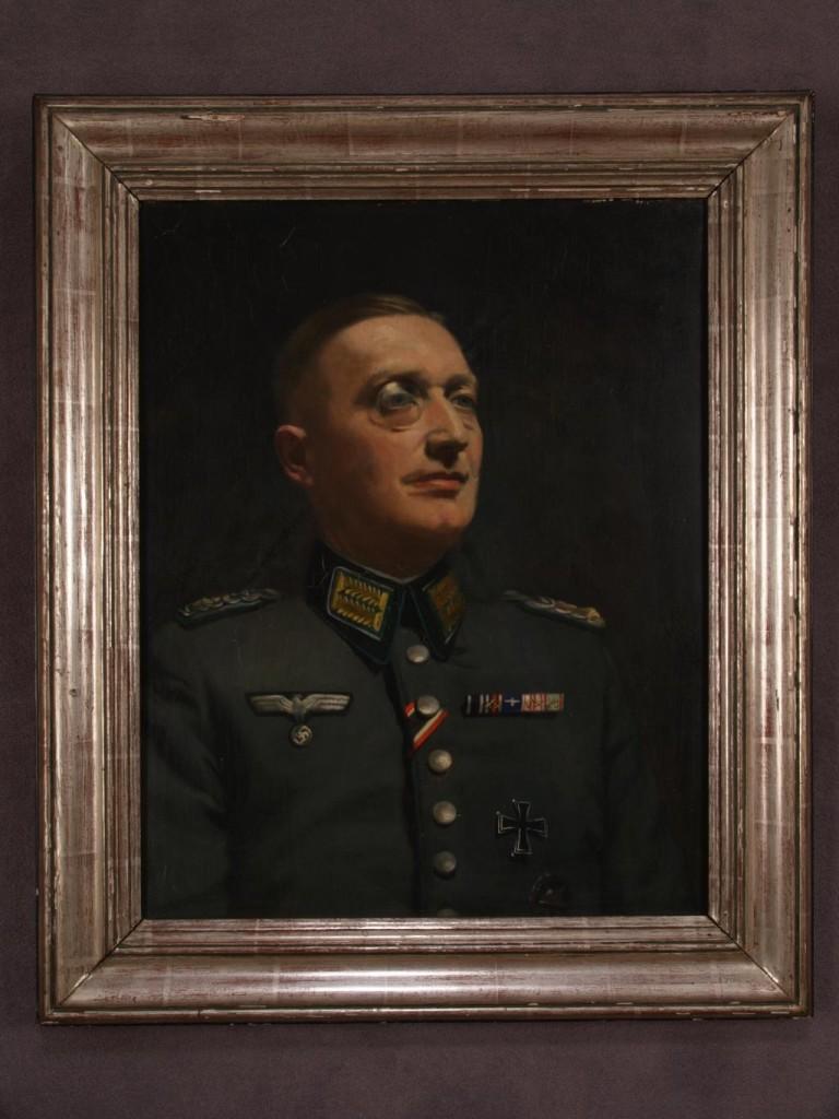 Porträt Heinrich Hehnens, Gemälde eines  belgischen Malers, undatiert: Quelle: Privatarchiv Hartmut Hehnen