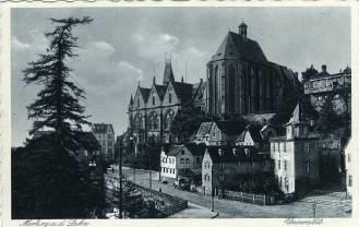Philipps-Universität Marburg, 1930: Quelle: Stiftung Denkmal für die ermordeten Juden Europas