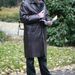 Walter Manoschek bei der Festrede, Kagran 2007 (Foto: Alexander Wallner)