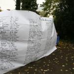 Die namentlich bekannten Opfer, Kagran, 2007 (Foto: Alexander Wallner)