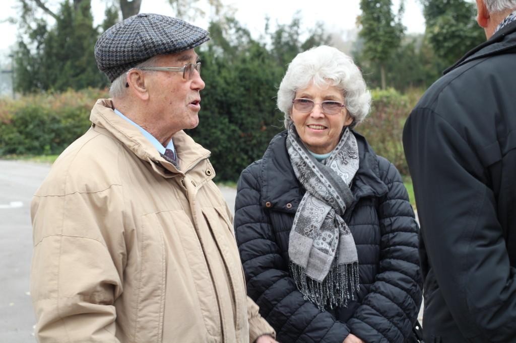 Linde und Richard Wadani vor der Feier 2014 (Foto: Archiv Personenkomitee)