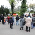 Publikum während Viktoria Spielmanns Rede Kagran 2014 (Foto: Archiv Personenkomitee)