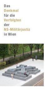 Folder Deserteursdenkmal Wien