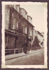 Die Villa Trebitsch in der Maxingstraße 20, um ca. 1942 (Bild: Privatarchiv Mathias Lichtenwagner)