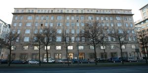 Frontansicht des Amtsgebäude Franz-Josefs-Kai 7-9 (Quelle: Alexander Wallner)