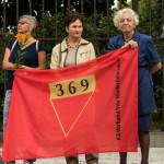 Gedenkfeier Ballhausplatz 2017: Aktivistinnen des KZ-Verbands