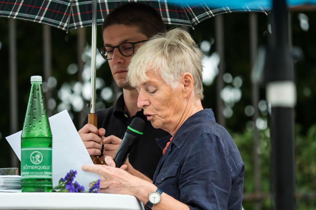 Gedenkfeier Ballhausplatz 2017: Redebeitrag Friedrun Huemer