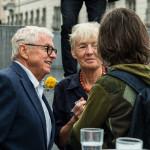 Gedenkfeier Ballhausplatz 2017: Peter und Friedrun Huemer