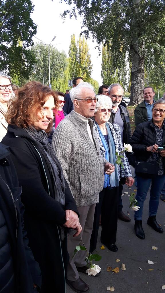 Richard und Linde Wadani unter den TeilnehmerInnen - Kagran 2017  (Foto: Archiv Personenkomitee)